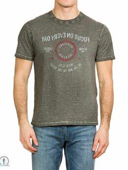Футболки и майки - Серая футболка W3980SLATE, 0
