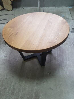 Столы и столики - Стол из массива дуба, 0