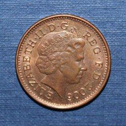 Монеты - 1 пенни Великобритания 2006 , 0