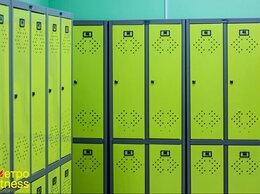 Мебель для учреждений - Шкаф металлический для одежды, 0