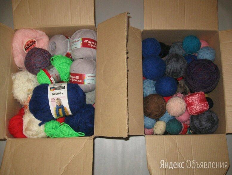 Пряжа 2 коробки, мулине пакетами по цене 10₽ - Рукоделие, поделки и сопутствующие товары, фото 0
