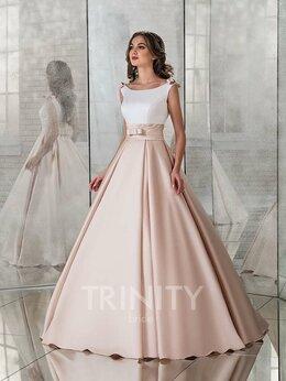 Платья - Атласное свадебное платье Королевский Бал размер , 0