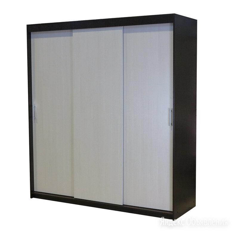 Шкаф-купе Уют 180х60х200 см Венге+Бодега по цене 19990₽ - Шкафы, стенки, гарнитуры, фото 0