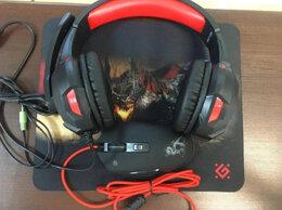 Наушники и Bluetooth-гарнитуры - Мышь + Коврик + Наушники игровые (НОВЫЕ), 0