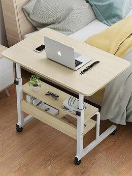 Столы и столики - Прикроватный столик на колесиках с полками, 0