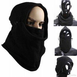 Маски - Теплая маска - капюшон. Новая c доставкой, 0