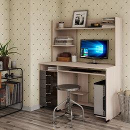 Компьютерные и письменные столы - Стол компьютерный Роберт 1, 0