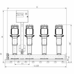Программное обеспечение - Установка Wilo COR-4 HELIX V 608/CC-EB-R, 0