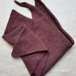 Шарфы, платки и воротники - Шарф-бактус (ручная работа) , 0