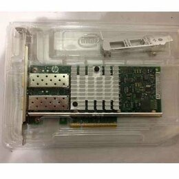 Сетевые карты и адаптеры - Сетевой адаптер HP Ethernet 10Gb 2-port 560SFP+, 0