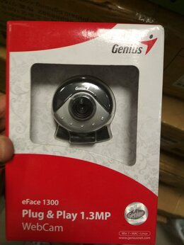 Веб-камеры - Веб-камера Genius eFace 1300, 0