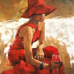 """Картины, постеры, гобелены, панно - Картина """"Красный вечер"""", 0"""
