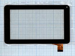 Дисплеи и тачскрины - Сенсорное стекло (тачскрин) FM700405KD черное, 0