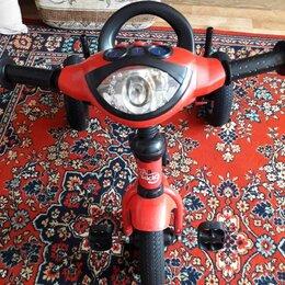 Трехколесные велосипеды - Велосипед-коляска Мисио, 3 колеса надувные, 0