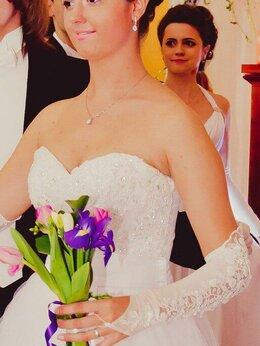 Платья - Свадебное платье, размер М (44-46), 0