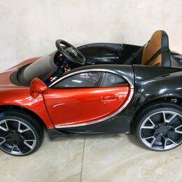 Электромобили - Детский электромобиль Bugatti Chiron, 0