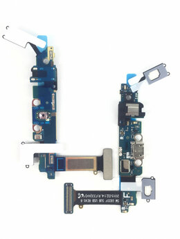 Шлейфы - Шлейф для Samsung Galaxy S6 (SM-G920F) разъем…, 0