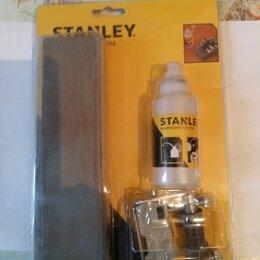 Стамески - Набор для заточки стамесок (брусок, направляющая) STANLEY 0-16-050, 0