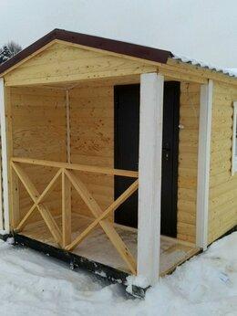 Готовые строения - Мобильная баня из бруса, 0