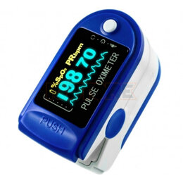 Приборы и аксессуары - Цифровой пульсоксиметр Fingertip Pulse Oximeter, 0