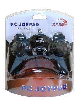 Рули, джойстики, геймпады - Геймпад Speed JNP-U1603S для PC (Black), 0
