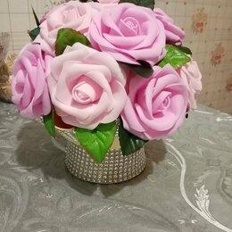 Цветы, букеты, композиции - Топиарий букеты из изолона и фоамирана , 0