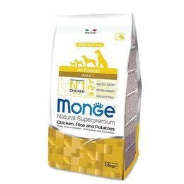 Корма  - Monge Dog Speciality Adult Chicken для взрослых…, 0
