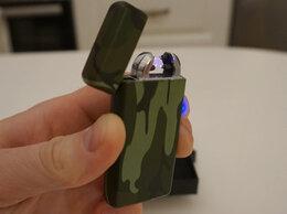Пепельницы и зажигалки - Зажигалка USB камуфляж, 0
