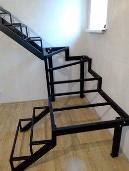 Лестницы и элементы лестниц - Лестница металлическая на второй этаж , 0