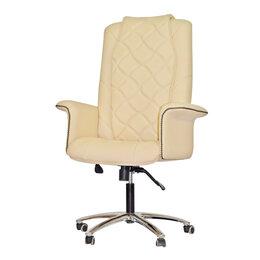 Массажные кресла - Офисное массажное кресло EGO PRIME EG1003 КРЕМ (Арпатек), 0