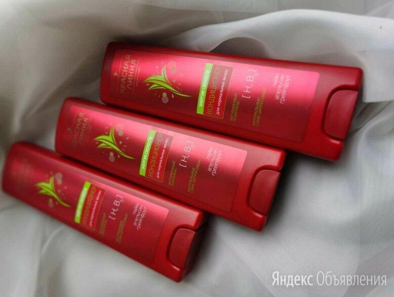 Кондиционер для волос Красная линия по цене 40₽ - Ополаскиватели, фото 0