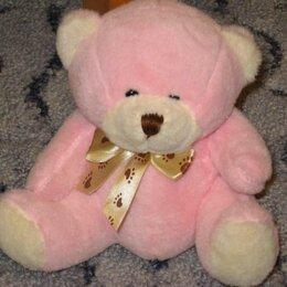 Мягкие игрушки - Мягкий розовый мишка, 0