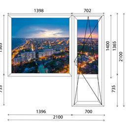 Окна - Пластиковые окна / лоджии / балконы., 0