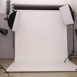 Фоны - Белый бумажный фон. Фотографический белый фон бумажный., 0
