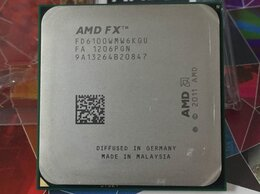 Процессоры (CPU) - Процессор 6 ядер sAM3+ fx-6100 3,3-3,9GHz, 0