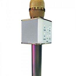 Микрофоны - Караоке микрофон q7 Золотая роза, 0