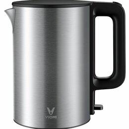 Электрочайники и термопоты - Чайник Viomi Electric Kettle серебристый YM-K1506, 0