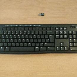 Клавиатуры - компактная Беспроводная клавиатура Logitech с адаптером, 0