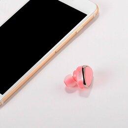 Наушники и Bluetooth-гарнитуры - Bluetooth-гарнитура E7 HOCO розовая, 0