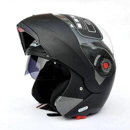 Мотоэкипировка - Мотошлем JIEKAI JK-105 Черный матовый, 0