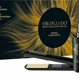 Щипцы, плойки и выпрямители - Подарочный набор Orofluido - Выпрямитель для волос, 0