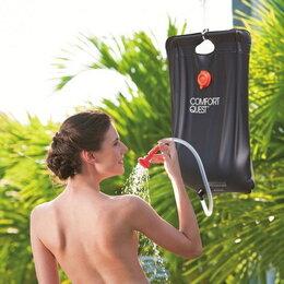Аксессуары и комплектующие - Походный переносной душ Solar Shower Bag, 0