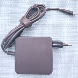 Блоки питания - Блок питания type-C 65W 3.25 A 5-20V для ноутбуков, 0