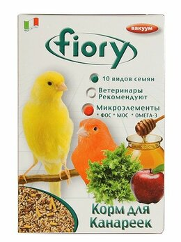 Корма - FIORY корм для канареек Canarini 400 г, 0