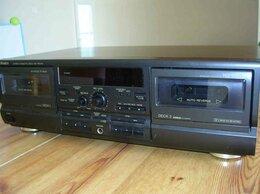 Музыкальные центры,  магнитофоны, магнитолы - 2-х кассетный Technics 474, 0
