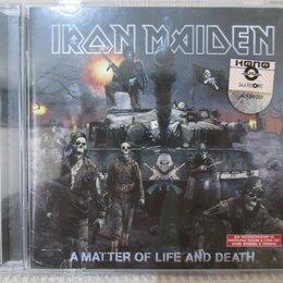 "Музыкальные CD и аудиокассеты - cd Iron Maiden ""A matter of life and death"", 0"