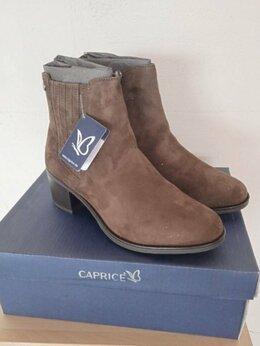 Ботинки - Замшевые ботинки Caprice новые, 0