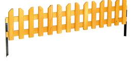 Заборчики, сетки и бордюрные ленты - Забор декоративный садовый из дерева дл.120см., 0