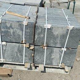 Облицовочный камень - Плитка из Пироксенита 600*300*30 термо, 0
