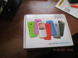 Мобильные телефоны - Мобильный телефон alcatel 2005 новый+наушники…, 0